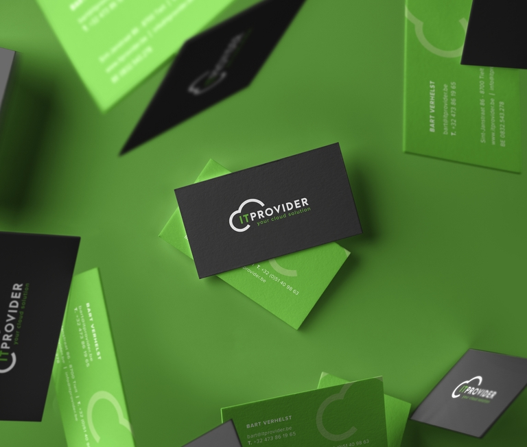 IT provider business cards
